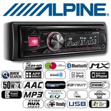 ALPINE CDE-173BT - Autoradio DIN CD MP3 USB iPod BT CDE-173BT