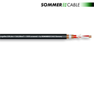 Sommer Cable 238 Plus - SC-GALILEO - Mikrofonkabel (1 m / 2 x 0,38 qmm / OFC / schwarz)