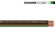 Sommer Cable 240 MKII - SC-ORBIT - Lautsprecherkabel (1 m / 2x4,0 qmm / OFC / schwarz transparent )