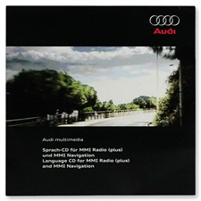 Navteq 4G0 919 884 E - Audi Language CD for MMI Radio (plus) / MMI Navigation