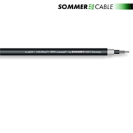 Sommer Cable 300-0051 - SC-SPIRIT - Gitarrenkabel High End (1 m / 1 x 0,50 qmm / 7,0 mm / schwarz )
