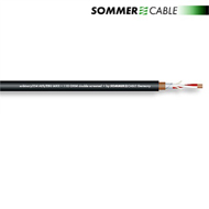 Sommer Cable 234 - SC-BINARY 234 AES/EBU MKII -  AES/EBU & DMX-Kabel (1 m / 2 x 0,34 qmm / 6,4mm / schwarz)