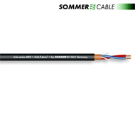 Sommer Cable 200-0051 - SC-CLUB SERIES MKII - Mikrofonkabel (1 m / 2 x 0,34 qmm / 6,5mm / schwarz)