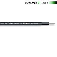 Sommer Cable 770-0401 - SC-TEMPOFLEX SOLAR TS04 - Photovoltaik-Modulverbindungskabel (1 m / 1x4 qmm / 5,7 mm / schwarz)