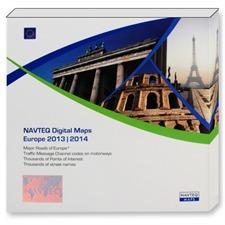 NAVTEQ Europa - VDO Dayton non CIQ - T1000-20875 (11 CDs / 2013/2014)