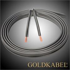 Goldkabel 70814 - SOLID 600 - Lautsprecherkabel (1m / anthrazit  / 2 x 6,0 qmm)