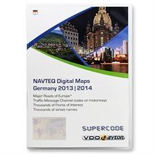 VDO-Dayton/Navteq Deutschland + MRE - T1000-20902 - VDO Dayton C-IQ Exit Supercode (2 CD) 2013/2014