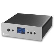 Pro-Ject Tuner Box S - FM-Tuner im Miniaturformat (silber)