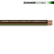 Sommer Cable 225 MKII - SC-ORBIT - Lautsprecherkabel (1 m / 2x2,5mm² / 10,2 x 4,8 mm / black transparent )