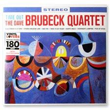 inakustik Dave Brubeck Quartet: Time Out - LP (180 Gramm Vinyl / DMM - Direct Metal Mastercut)
