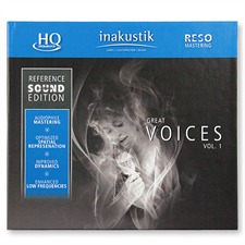 inakustik Reference Sound Edition: Great Voices Vol.1 (HQCD) - Various Artists (Audio CD / HQCD - HiQuality CD / RESO-Mastering)