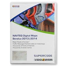 VDO-Dayton/Navteq Benelux + MRE - T1000-20901 - VDO Dayton C-IQ Exit Supercode CIQ (2 CD) 2013/2014