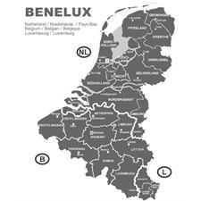 Navteq 11005034 - Benelux + MRE - Alfa 166 G3 Navigation (1 CDs / 2010/2011)