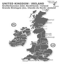 Navteq 11005037 - Großbrittanien / Irland + MRE - Alfa 166 G3 Navigation (1 CDs / 2010/2011)