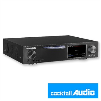 Cocktail Audio X30 mit 4TB HDD Festplatte (schwarz / All-in-One HD Musikserver)