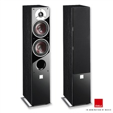 DALI Zensor 5 - 2,5-Way bass reflex floorstanding loudspeakers (30-150 W / black ash / 1 pair)