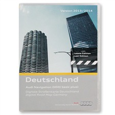 Tele Atlas 4F0 060 884 CD - Deutschland - Audi Navigation MMI Basic plus (1 CD / 2014)