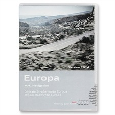 Navteq 4G0 060 884 N - Europa - Audi Navigations-DVD für MMI 3G Basic Navigation (Version 2014)