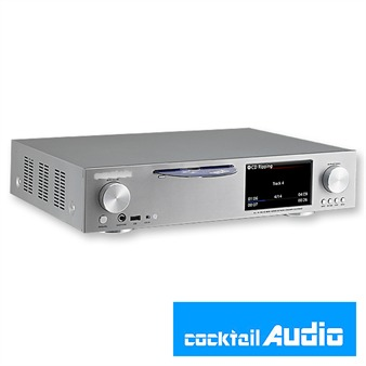 NOVELTECH Cocktail Audio - X30 without hard drive (silver / 1 piece)
