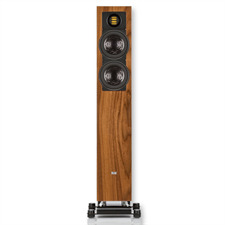 Elac FS 407 2½-way standspeaker (40-300 watts / walnut high gloss / 1 piece)