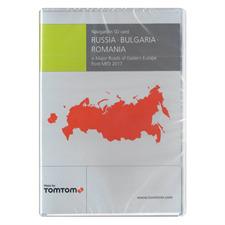 Tele Atlas Russland / Bulgarien / Rumänien + MREE (Major Roads of Eastern Europe) - 103 1034 - SD Navigation MFD 2017 (1 x SD) für FORD (Focus / C-Max / B-Max / Ranger / Transit)