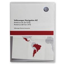 NAVTEQ Brasilien / Argentinien / Mexiko - 3AA 051 866 AK - Original Volkswagen für RNS315 / RNS Amundsen+ / Seat media System (V7 / SD / 2016/2017)