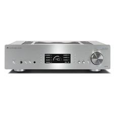 Cambridge Audio AZUR 851A - Vollverstärker (Klasse XD / 2 x 200 Watt / A-B Schaltung / sym. XLR In / silber)