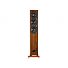 Elac FS 507 VX-JET - 3,5-way floorstanding loudspeaker (220-300 Watts / high gloss walnut veneer / 1 piece) - customer purchase - RRP = 4.990,- Euro per piece