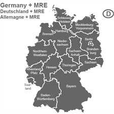 NAVTEQ / OPEL (Here) - Deutschland + MRE - für Opel CD70 Navigationssysteme (2 CD) 2014/2015