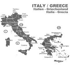 NAVTEQ / OPEL (Here) - Italien / Griechenland - für Opel CD70 Navigationssysteme (CD) 2014/2015