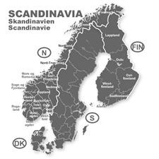 NAVTEQ / OPEL (Here) - Skandinavien - für Opel CD70 Navigationssysteme (CD) 2014/2015