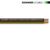 Sommer Cable 225 MKII - SC-ORBIT - Lautsprecherkabel (10 m / 2x2,5mm² / 10,2 x 4,8 mm / black transparent )
