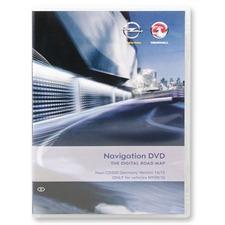 Navteq Deutschland - Opel CD500 für MY2009/2010 (V 2014/2015 / Astra J / Insignia / Meriva B)