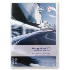 Navteq Alpen - Opel CD500 für MY2009/2010 (V 2014/2015 / Astra J / Insignia / Meriva B)