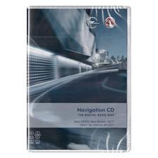 Navteq Alpen - Opel CD500 MY2011 - Version 2016/2017 für Astra J / Insignia / Meriva