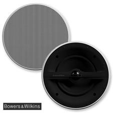 Bowers & Wilkins CCM362 - 2-Wege Deckeneinbaulautsprecher / Feuchtraum-Lautsprecher / Marine-Lautsprecher (1 Paar / weiß)