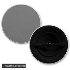 Bowers & Wilkins CCM382 - 2-Wege Deckeneinbaulautsprecher / Feuchtraum-Lautsprecher / Marine-Lautsprecher (1 Paar / weiß)