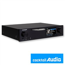 Cocktail Audio X40 without hard drive (black / All-in-One HD music server / 1 piece)