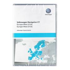 NAVTEQ Westeuropa - 1T0 051 859 AN - Original Volkswagen DVD für RNS510 / RNS810 Version 2018 (V15)