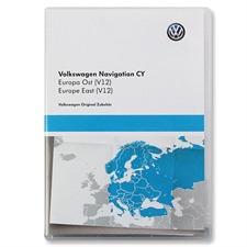 NAVTEQ Osteuropa - 1T0 051 859 AL - original Volkswagen für RNS510 / RNS810 (DVD / V13 / Version 2016)