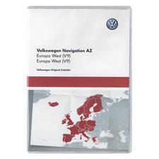 NAVTEQ Westeuropa - 3AA 051 866 AM - original Volkswagen für RNS315 / RNS Amundsen+ / Seat Media System (SD / V9 / 2017)