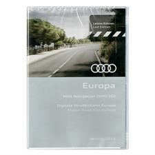 Navteq 4E0 060 884 FF - Europa - Audi Navigations DVD (2018 / MMI 2G / 2 x DVD)