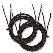 Kimber Kable 4PR - hochwertiges Lautsprecherkabel (2 x 1,5m / schwarz&braun OFC / extra verflochten / 2 x 2mm²)