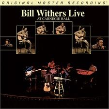 Bill Withers - Live At Carnegie Hall - Doppel-LP (2 x 180 Gramm Vinyl / Gatefold LP / Original Master Recording / Mobile Fidelity Sound Lab / neu & original verschweißt / MFSL 2-446)