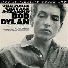 Bob Dylan: The Times They Are A-Changin' - Doppel-LP (2 x 180 Gramm Vinyl / Gatefold LP / Mobile Fidelity Sound Lab / neu & original verschweißt / MFSL 2-421)