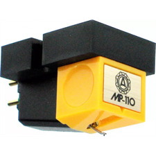 Nagaoka MP-110 - MI-Tonabnehmersystem für Plattenspieler (elliptische Nadelspitze / Moving Iron Technologie)