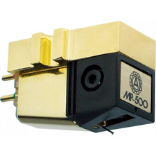 Nagaoka MP-500 - MI cartridge for turntables (Line contact diamond stylus / Moving Iron technology)