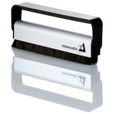 Clearaudio Doppeldecker - Kohlefaser Plattenbürste