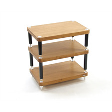 Atacama EVOQUE ECO 24/16 hifi rack - high-quality 24/16 hifi rack with 3 modules (bamboo solid wood / completely decoupled / incl. spikes)