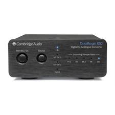 Cambridge Audio DacMagic 100 - Digital/Analog-Wandler (schwarz / 24 Bit/96 kHz)